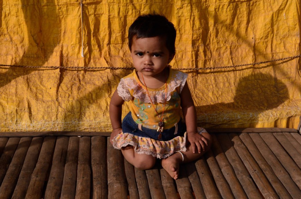 Photo of a child in Badami