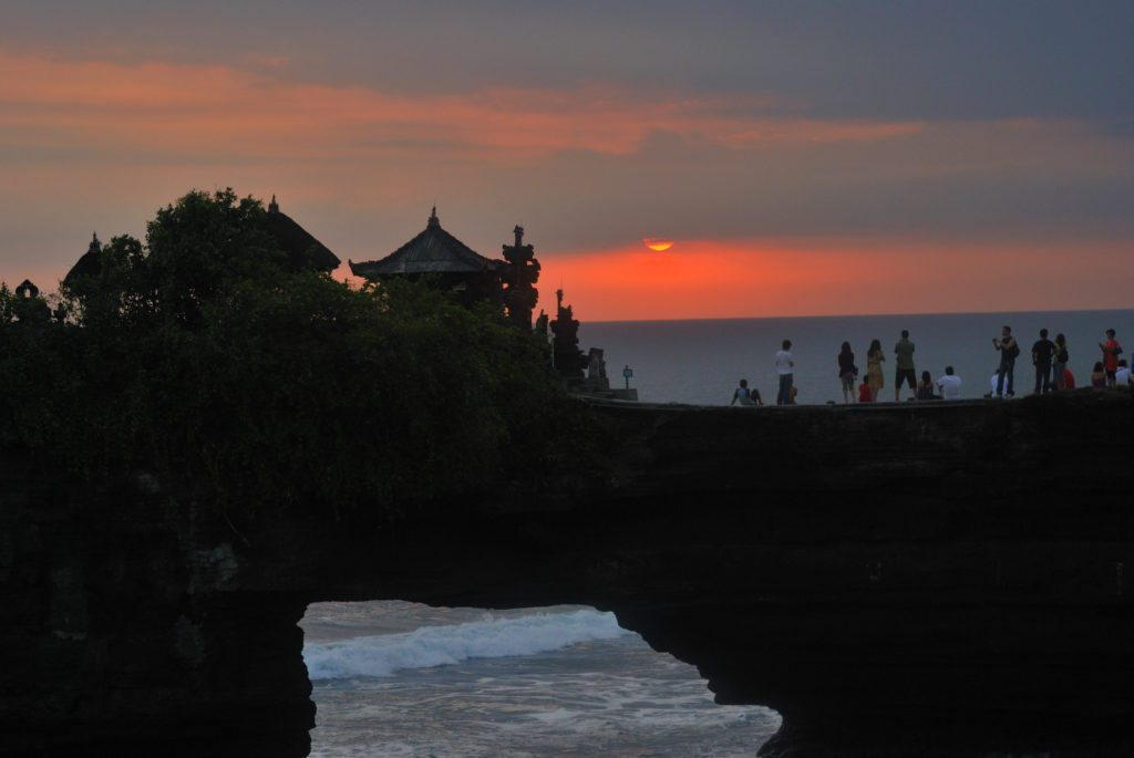 Top attractions in Bali - Tanah Lot Sunset, Bali