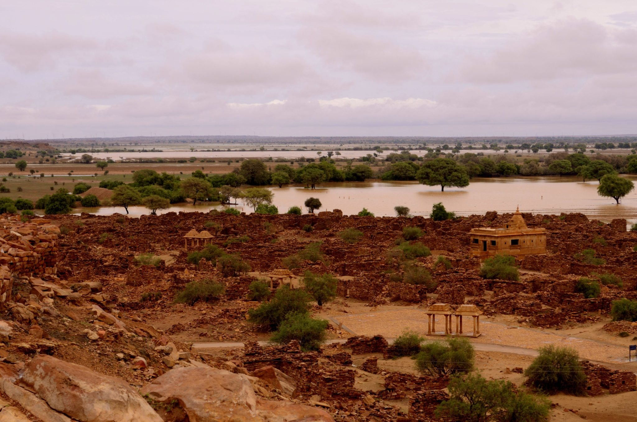 Photo of Kuldhara haunted village near Jaisalmer, ghost town in Rajasthan
