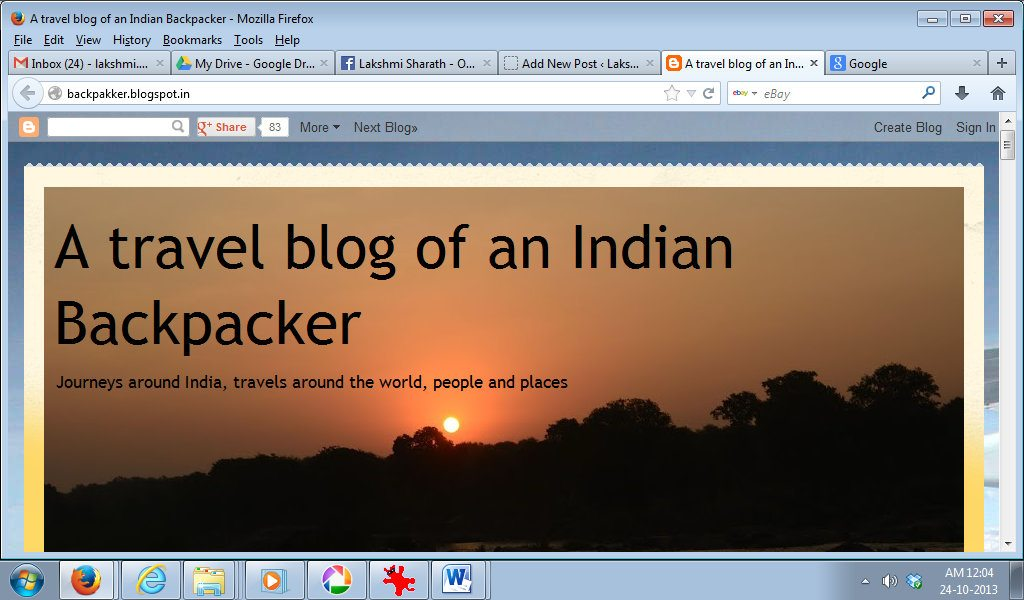 blog travel india lakshmi sharath