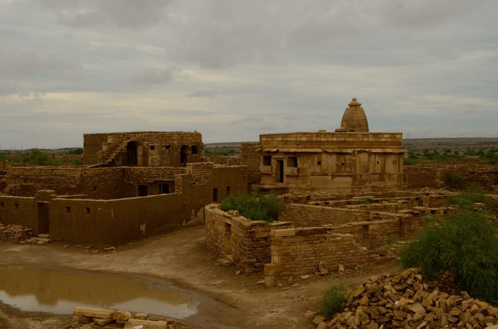 Kuldhara, ghost town in Rajasthan, lone haunted temple in Rajasthan