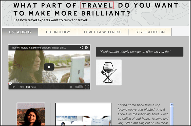 Marriott Travel Brilliantly, Marriott contest Travel Brilliantly