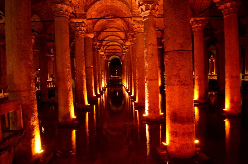 Photo of Cistern, Istanbul, Turkey, 48 hours in Istanbul Turkey