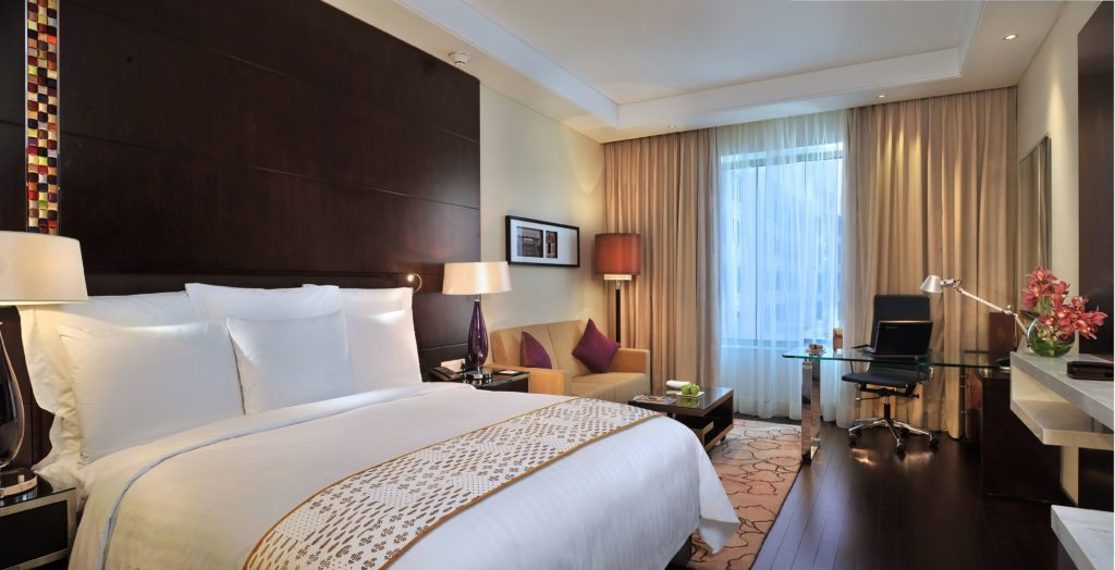 Marriott, Travel Brilliantly, delux rooms