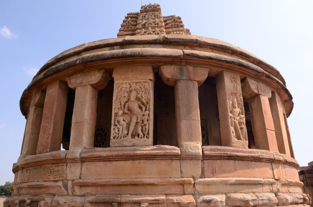 Aihole Durga temple , Chalukyan Architecture, Aihole photo, Skywatch
