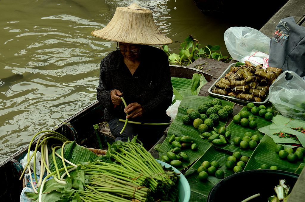 Taling Chan Floating Market Bangkok, Floating market Bangkok, Five memories of Thailand