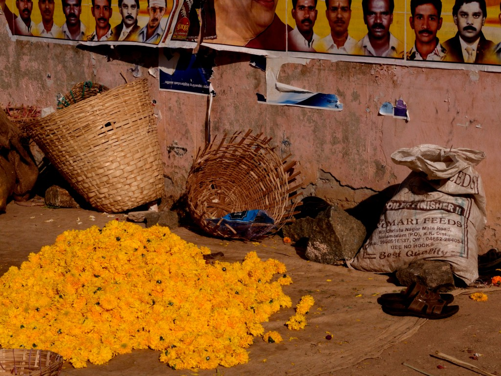 Thovalai flower market Nagercoil