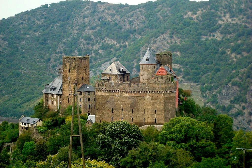 Rhine cruise, Germany castles,