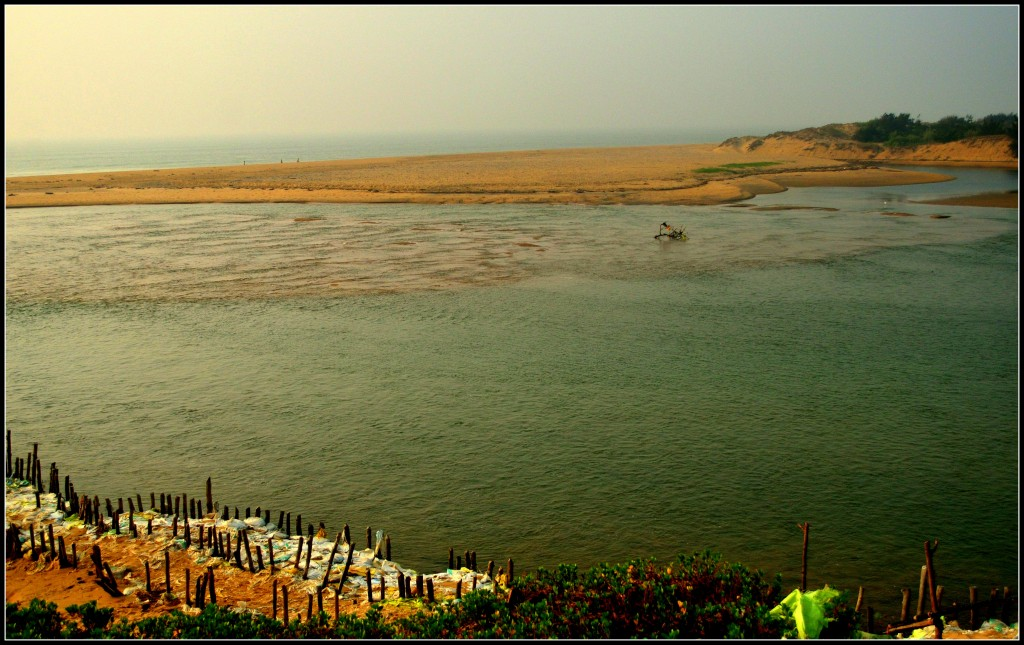 River Bhargavi, Puri beach, Puri Orissa, Sterling Golden Sands Puri