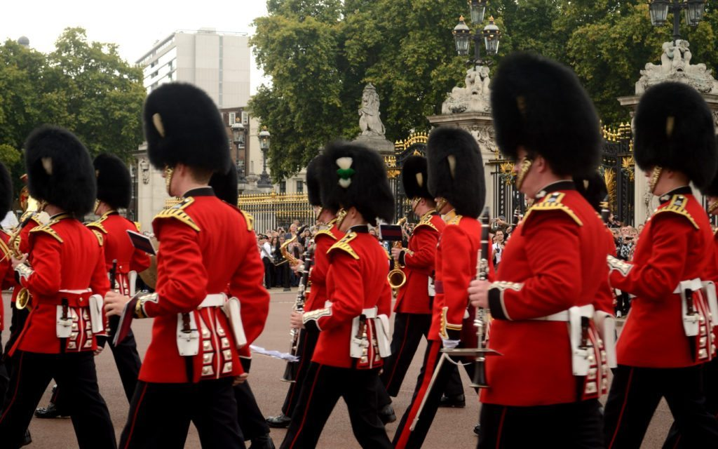 Changing of guard, London