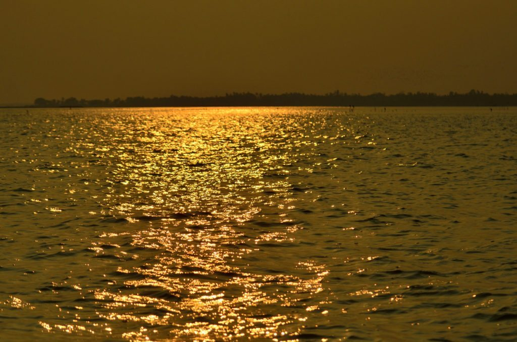 Chilika Lake, sunset, 48 hours in Puri