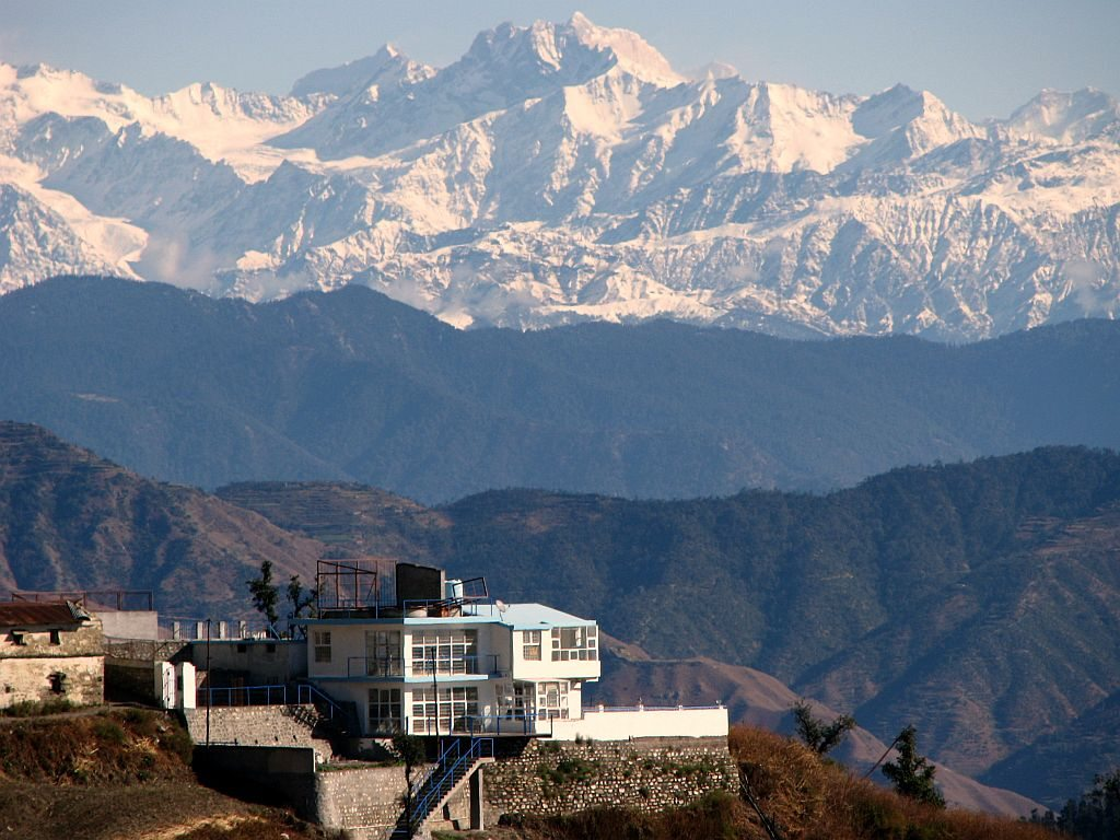 Wake up to the Himalayas in Dehradun