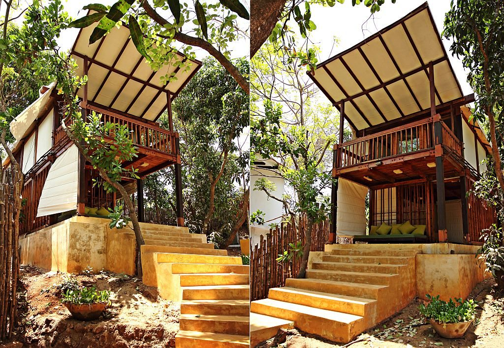 Tree house experience in Goa