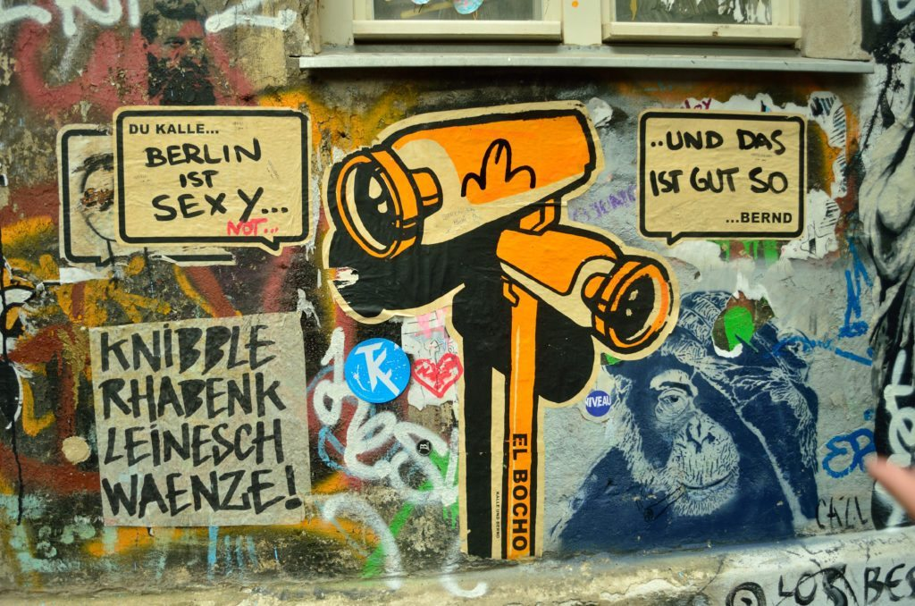Street art in Berlin