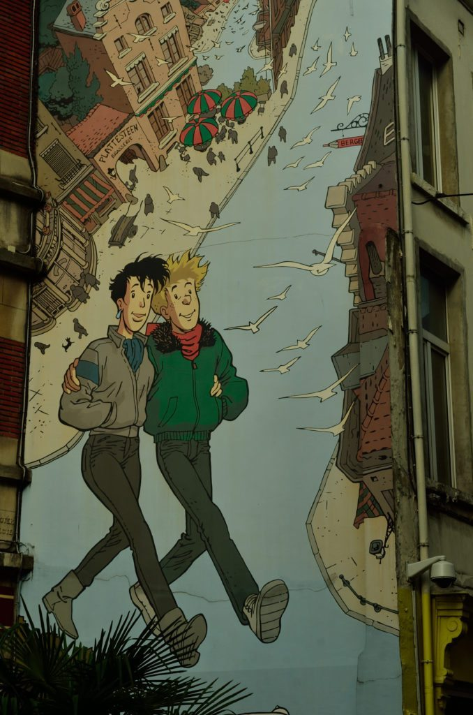 Comic strip, Brussels