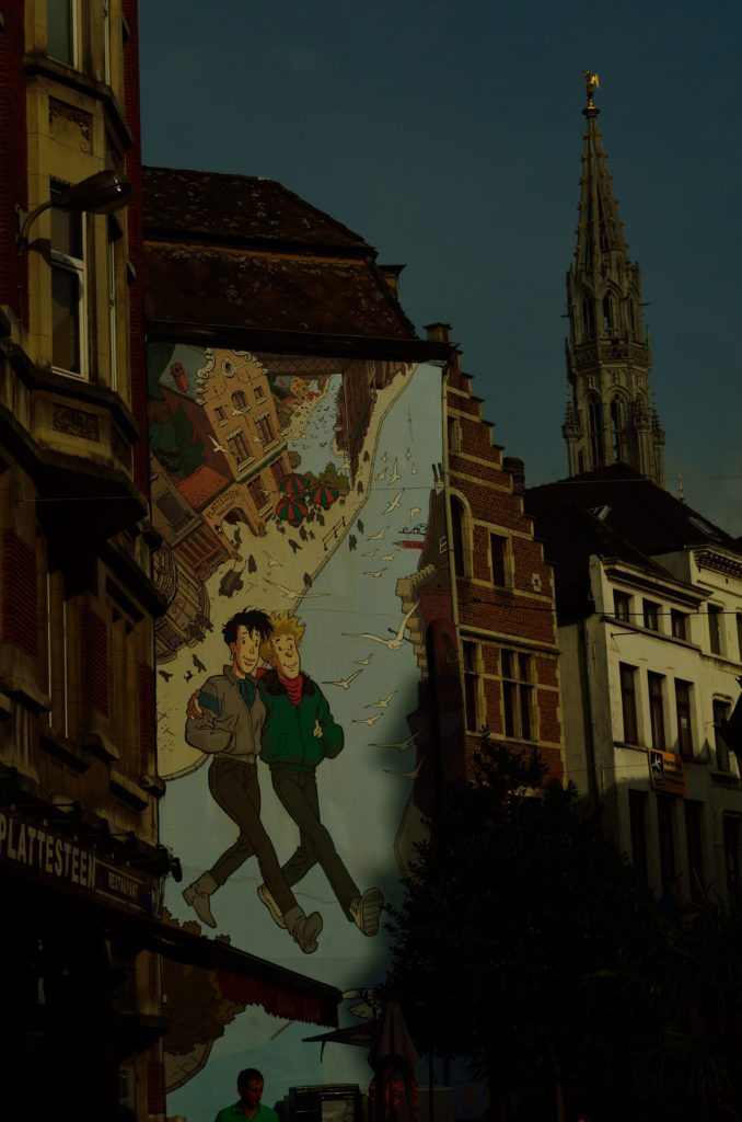 Brussels, comic strip