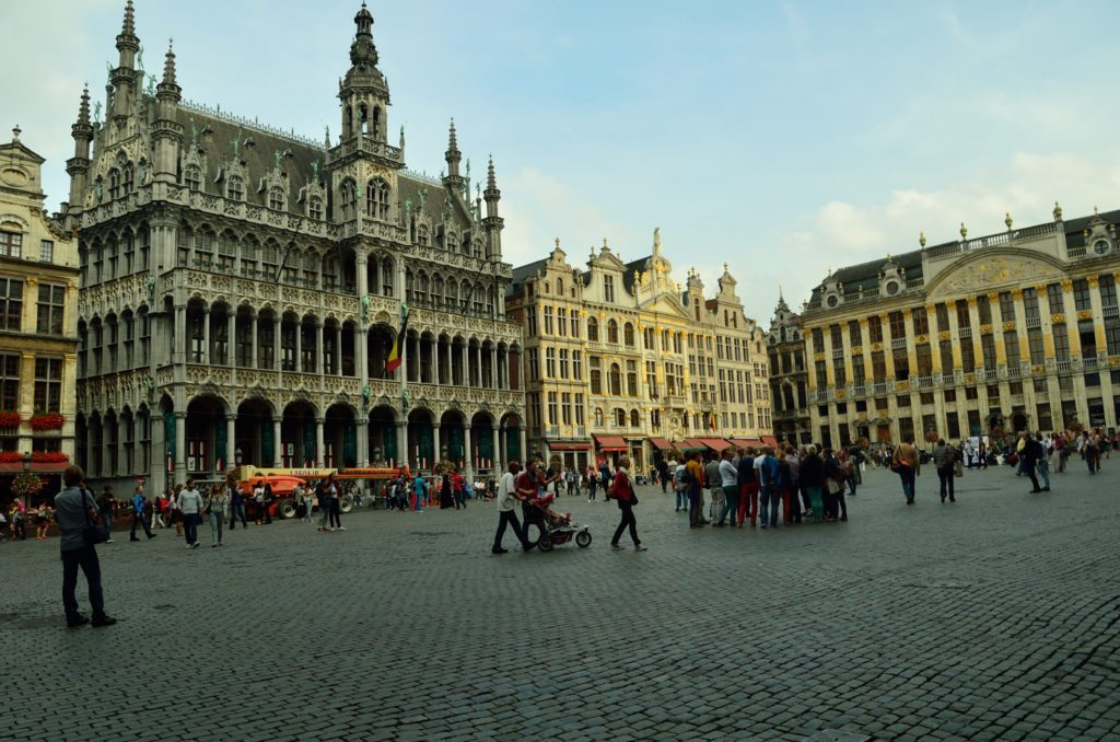 Grand Place, Brussels, market square
