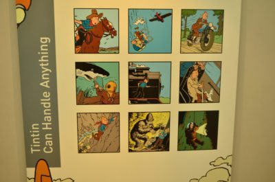Tintin comic strip brussels museum
