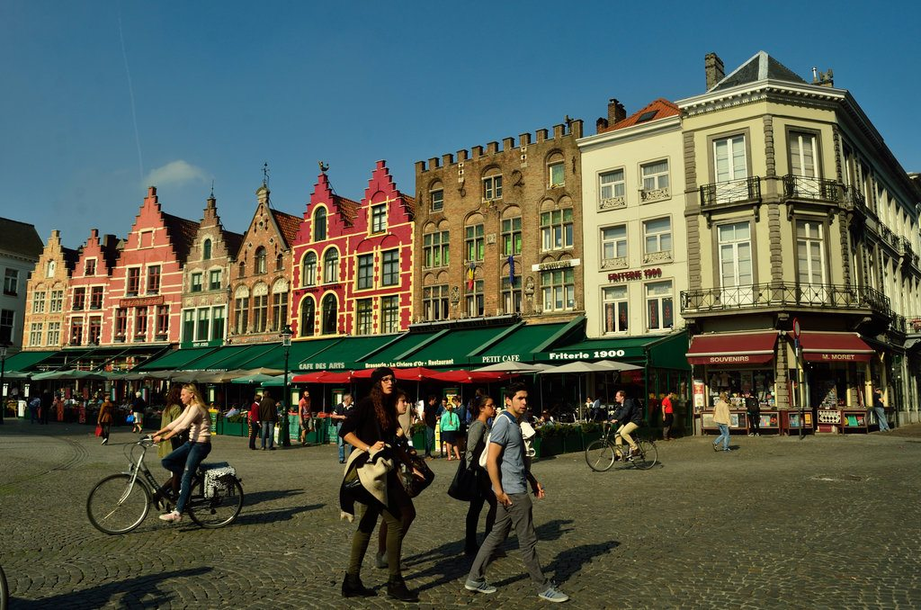 Bruges, citycentre, architecture