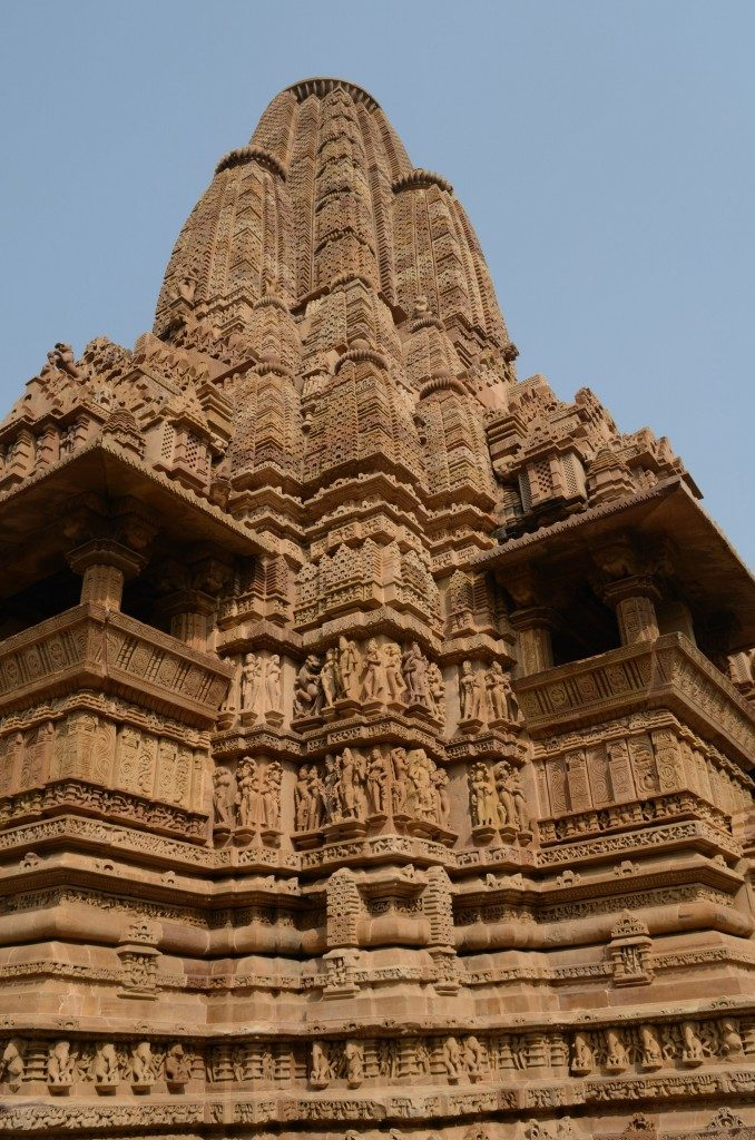 Khajuraho, the temples of Khajuraho
