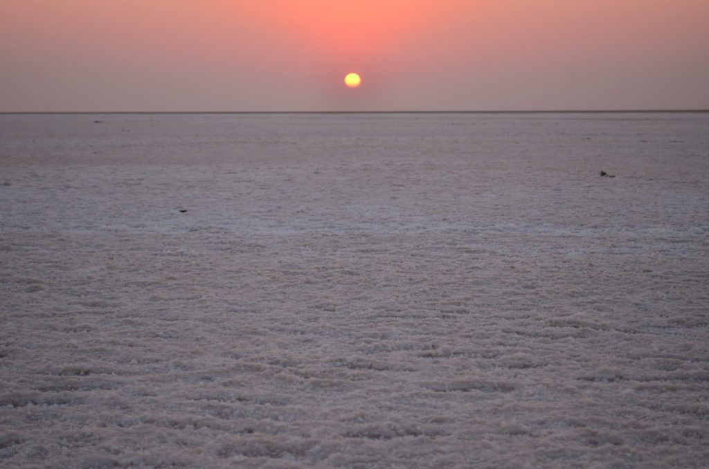 White Rann, Sunrise