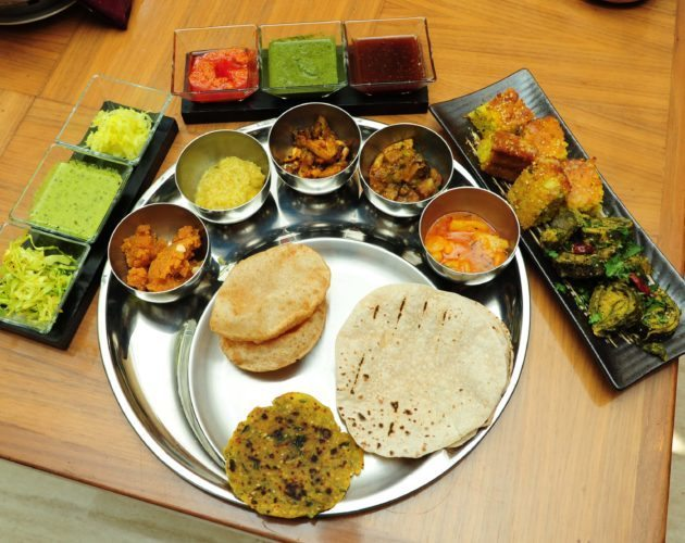 Gujarati thali, food, meal, Marriott, Ahmedabad