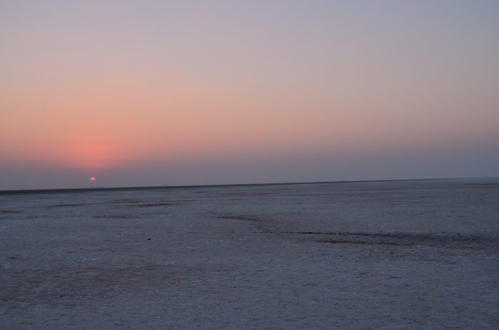 White Rann sunrise