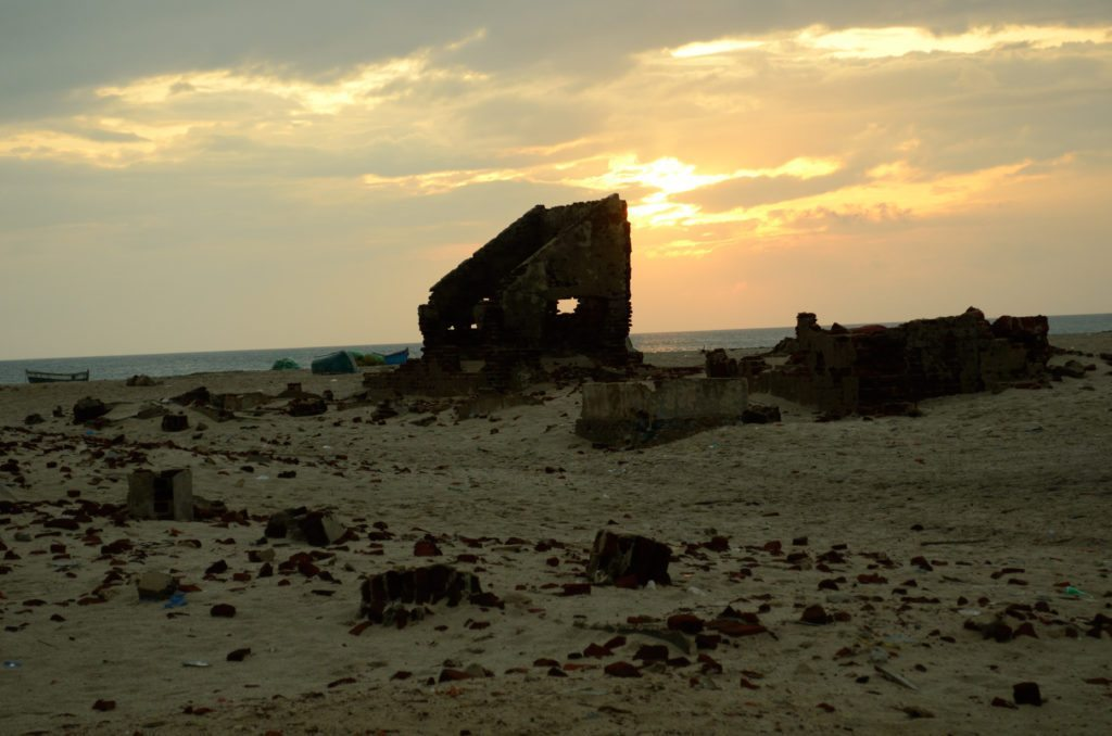 Dhanushkodi, sunset
