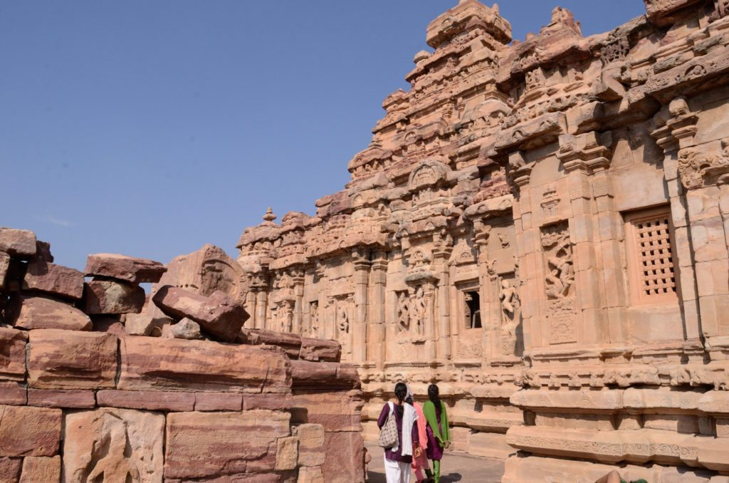 Pattadakal temple, Virupaksha temple