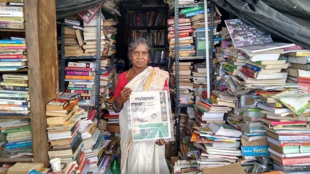 Second hand book store in Chennai