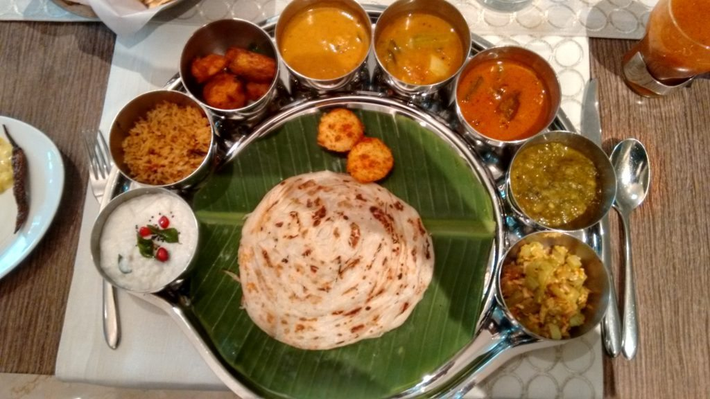 Raintree Hotels, Madras restaurant