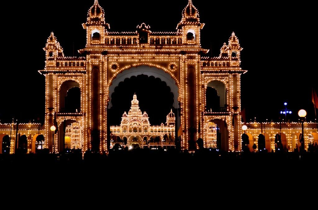 Mysore palace, Dussehra, mysore dasara festival, famous festivals of india, regional festivals of india, india the land of festivals