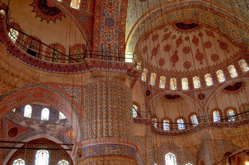 Blue Mosque , interiors