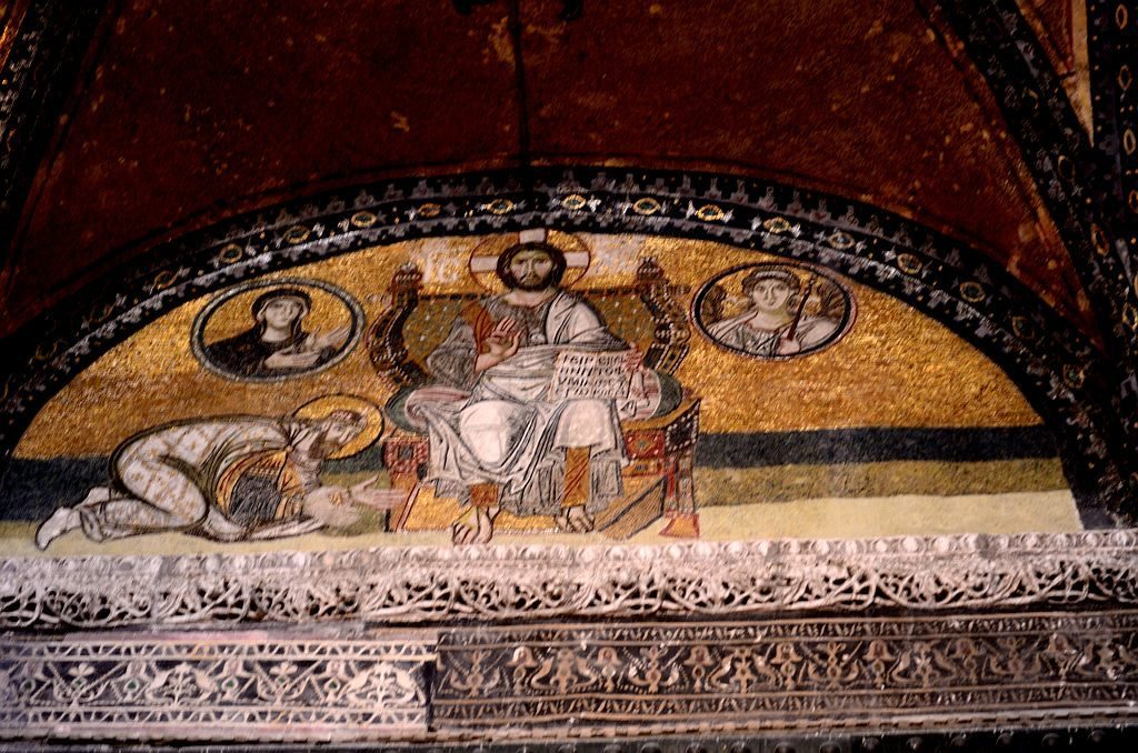 Hagia Sophia, Turkey, Istanbul, paintings