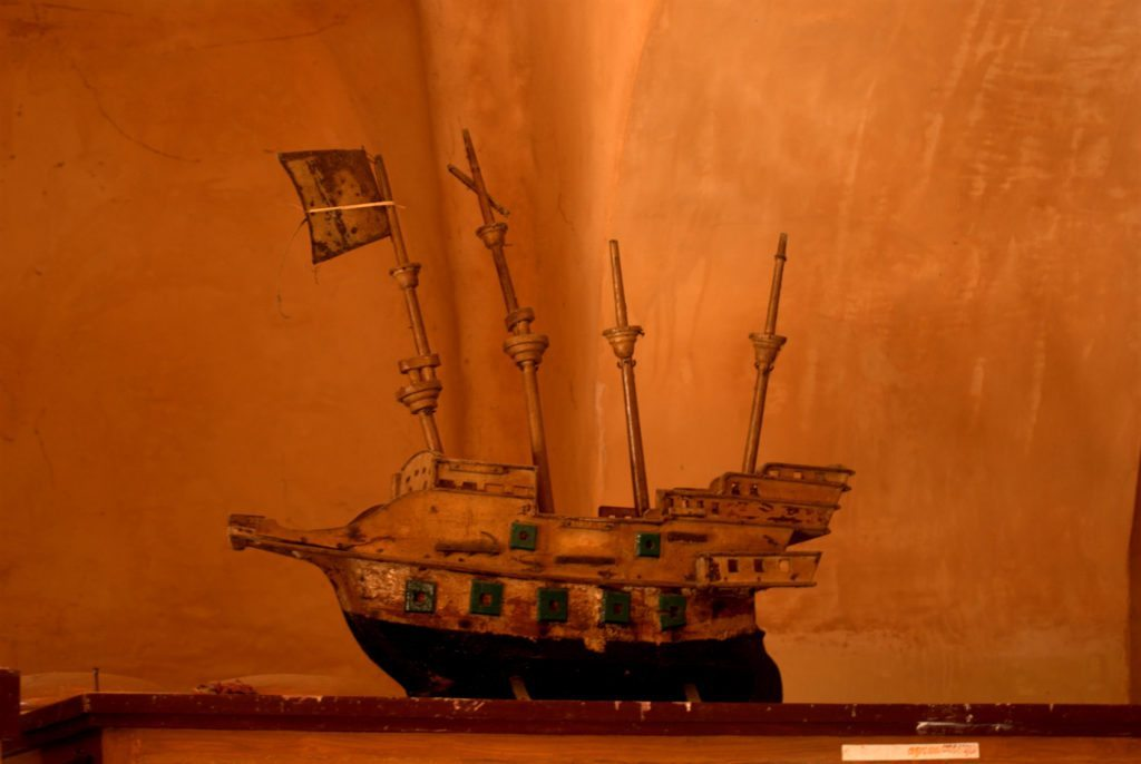 Tranquebar, ship, model, Tharagambadi
