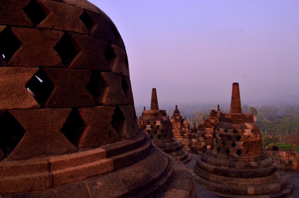 Borobodur, sunshine, top ten things to do in Indonesia