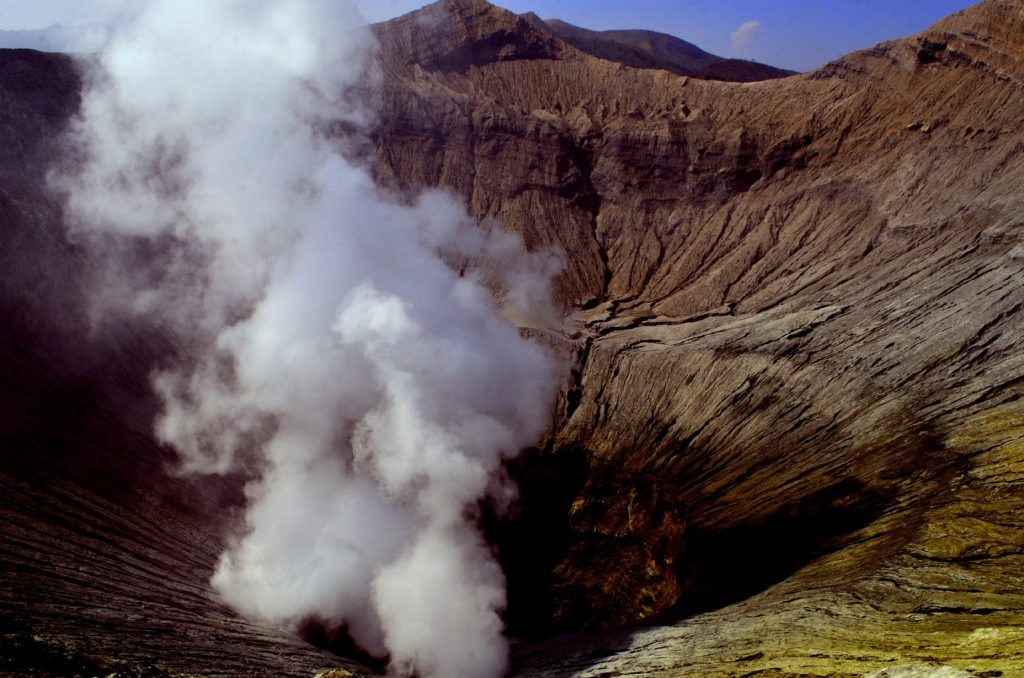 Mount Bromo, crater, top ten things to do in Indonesia