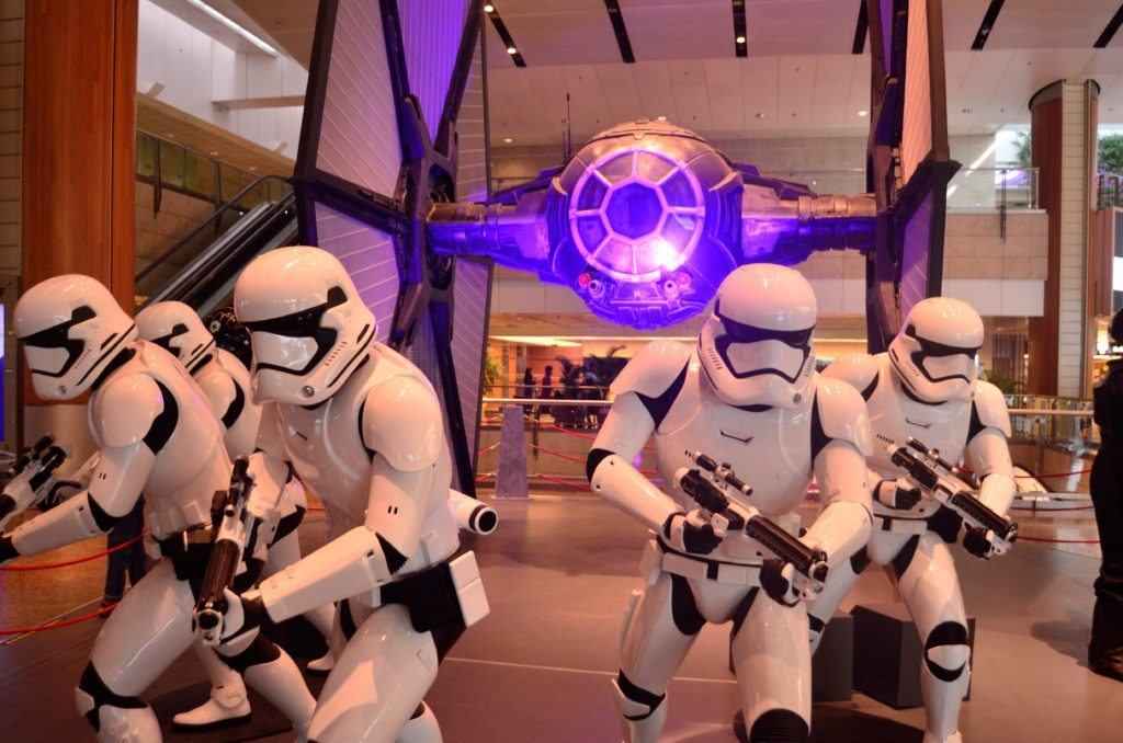 Star wars, Changi, Singapore