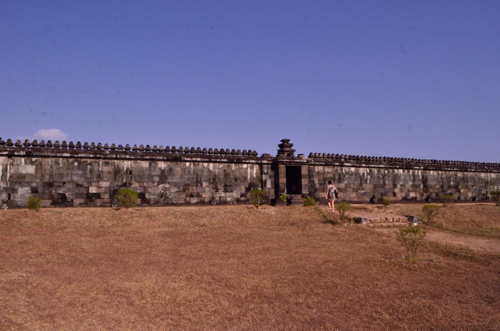 The audience hall at Ratu Boko, top things to do in Yogyakarta