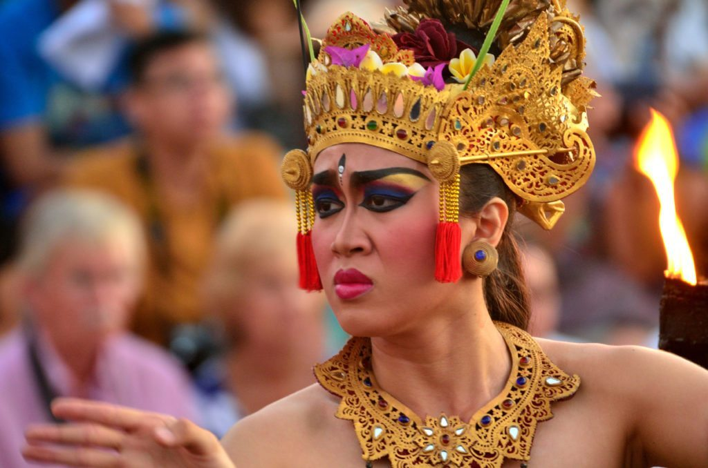 Traditional Indonesian dance shows and cultural performances