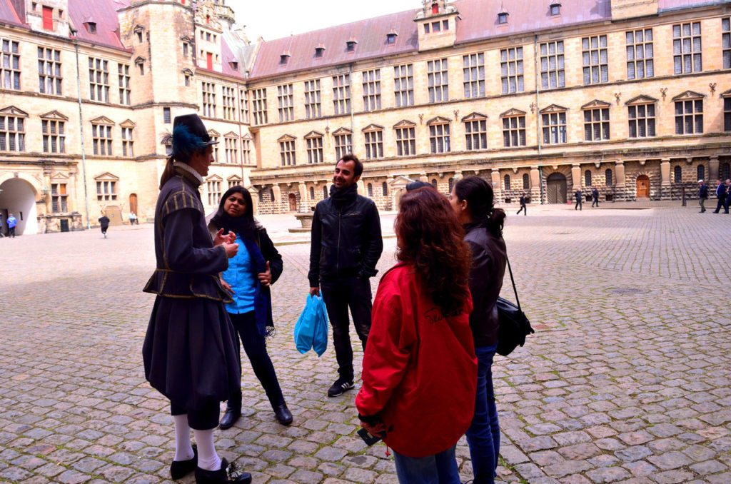 Shakespeare, Hamlet, Copenhagen, Kromborg Castle Copenhagen