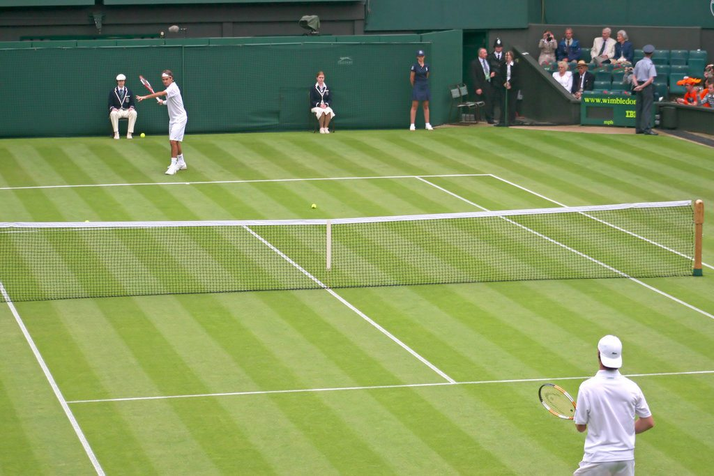 One of the dreams is to be at Wimbledon centre court