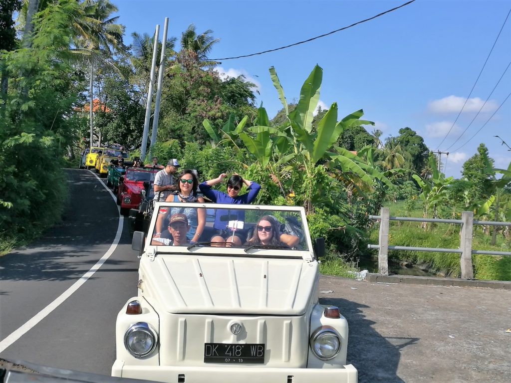 Volkswagen Safari to Ubud forest