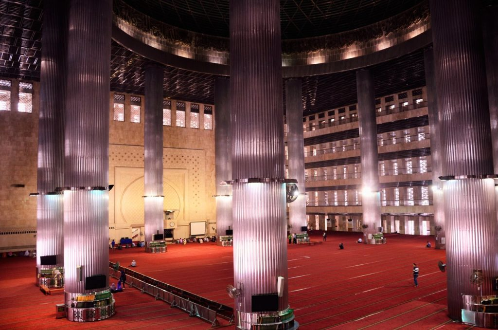 Istiqlal Mosque in Jakarta Indonesia