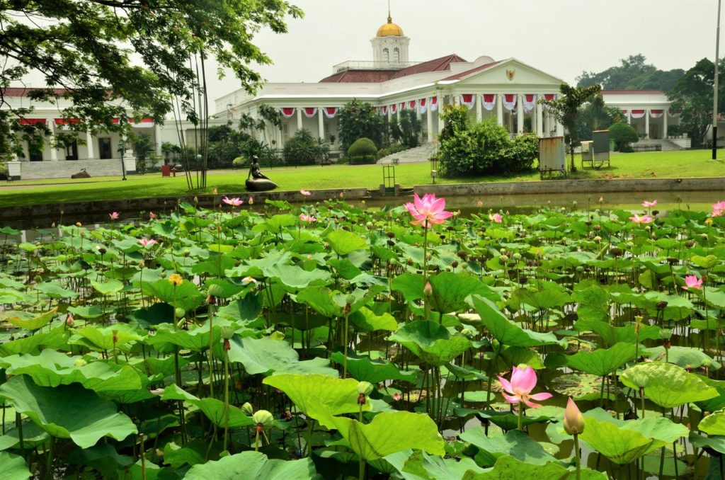 The palace in Bogor, Jakarta Indonesia