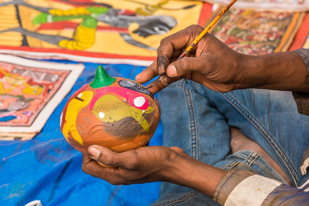 Skill India, arts and crafts from india, toy towns