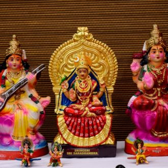Golu - arts and crafts of india-toy towns