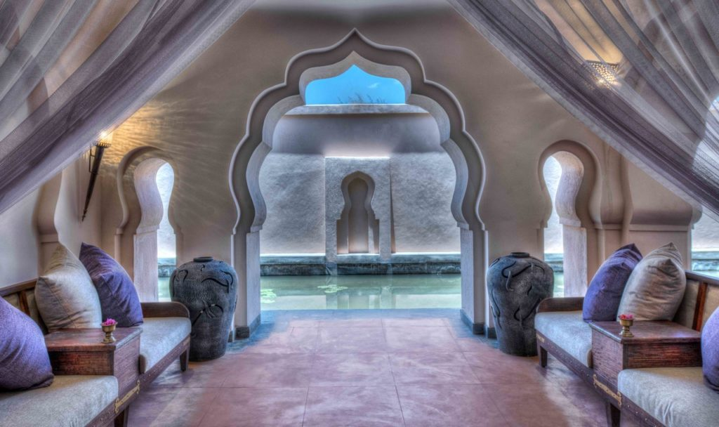 Interiors of Orange County Hampi