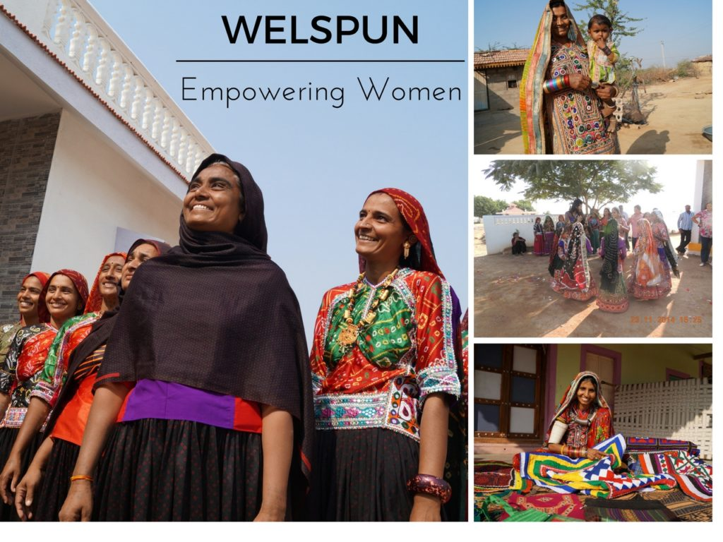 Women of Kutch with Arts and Crafts talents, Welspun, Spundana