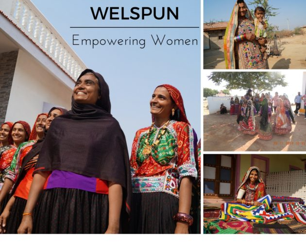 Women of Kutch, Arts and crafts of Kutch, Welspun, Spundana